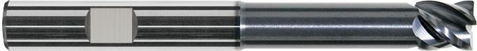 ECS614R - Karbür Freze, ExtraCut, Uzun Sap, Veldon Saplý