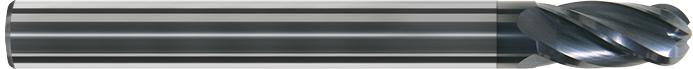 FK104 - Küresel Karbür Freze, Ekstra Kýsa